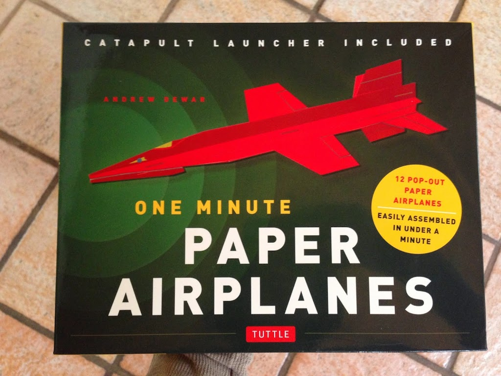 One Minute Paper Airplanes By Andrew Dewar Yuki Origami - Box paper airplane